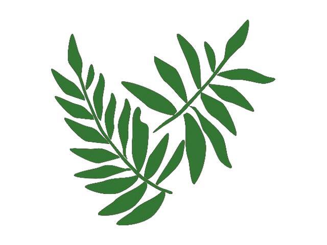 Naklejka dekoracyjna welurowa liście 671006-9 Klimaty Domu