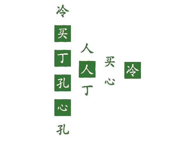 Naklejka dekoracyjna welurowa chińskie znaki 671011-9 Klimaty Domu