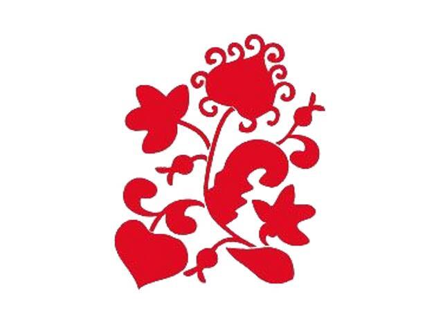 Naklejka dekoracyjna welurowa roślina 671012-6 Klimaty Domu