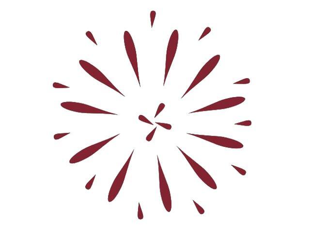 Naklejka dekoracyjna welurowa ornament 671030-11 Klimaty Domu
