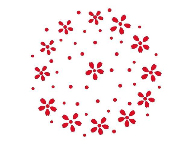 Naklejka dekoracyjna welurowa ornament 671034-6 Klimaty Domu
