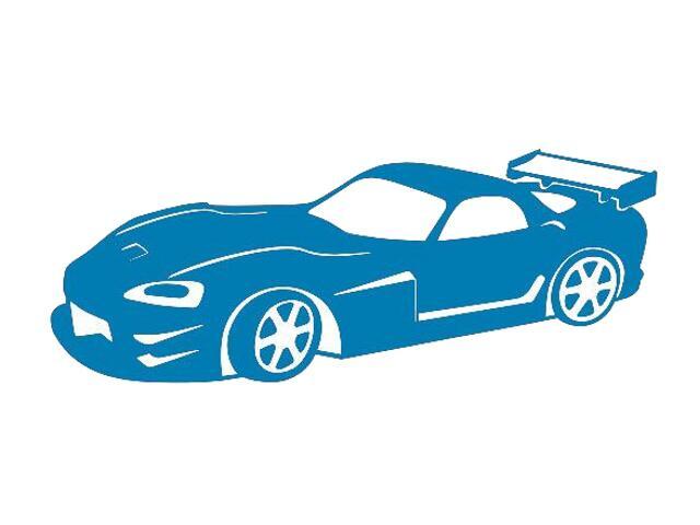 Naklejka dekoracyjna welurowa samochód 675017-4 Klimaty Domu
