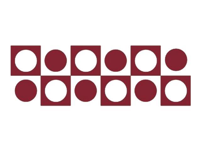 Naklejka dekoracyjna welurowa geometryczna 671041-11 Klimaty Domu