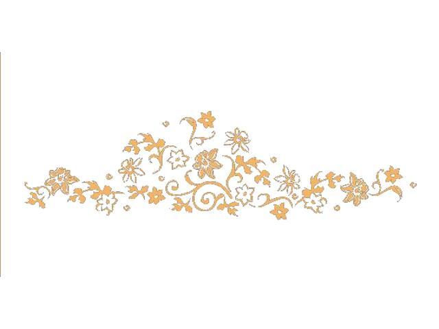 Naklejka dekoracyjna welurowa rośliny 675040-14 Klimaty Domu