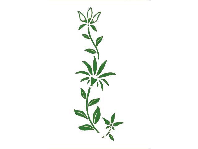 Naklejka dekoracyjna welurowa roślina 675038-9 Klimaty Domu