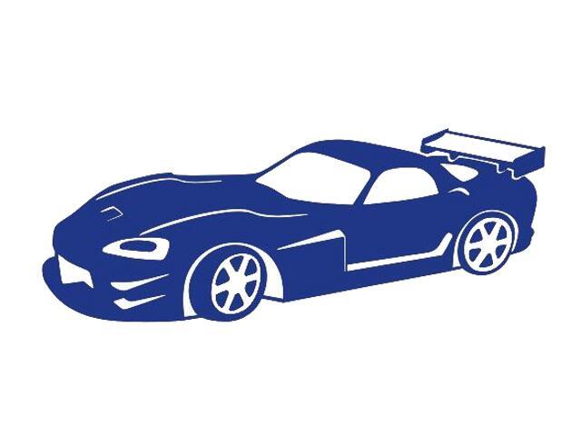 Naklejka dekoracyjna welurowa samochód 675017-13 Klimaty Domu