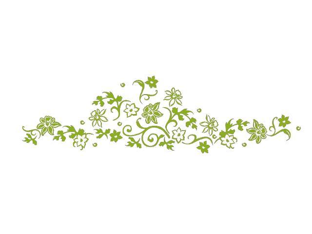 Naklejka dekoracyjna welurowa kwiaty 679040-5 Klimaty Domu