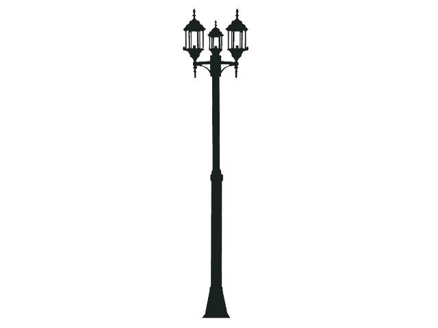 Naklejka dekoracyjna welurowa latarnia 679026-7 Klimaty Domu