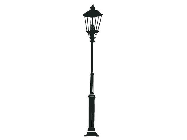 Naklejka dekoracyjna welurowa latarnia 679019-7 Klimaty Domu