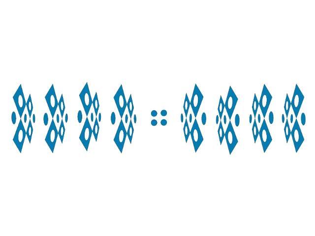 Naklejka dekoracyjna welurowa geometryczna 679381-4 Klimaty Domu