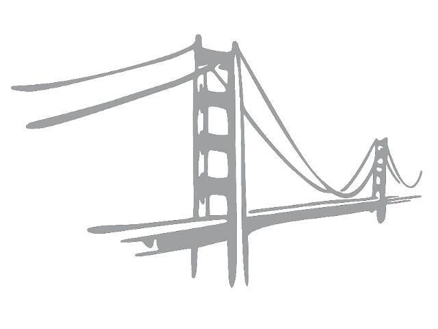 Naklejka dekoracyjna welurowa most 679141-12 Klimaty Domu