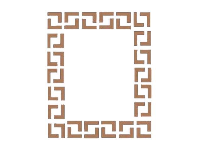 Naklejka dekoracyjna welurowa geometryczna 674000-8 Klimaty Domu