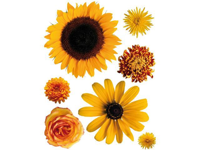Naklejka dekoracyjna kwiaty F00408 Ergis