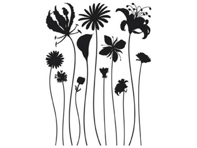Naklejka dekoracyjna kwiaty FL00441 Ergis