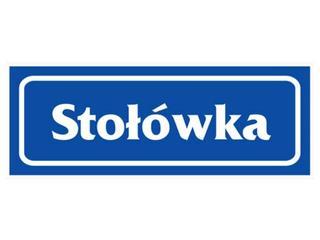 """Znak informacyjny """"Stołówka"""" Z-R17-P rozm. 90x240 ANRO"""