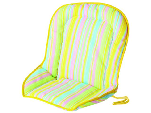 Poduszka do siedzenia Wesoła Tęcza żółty-róż BabyMatex