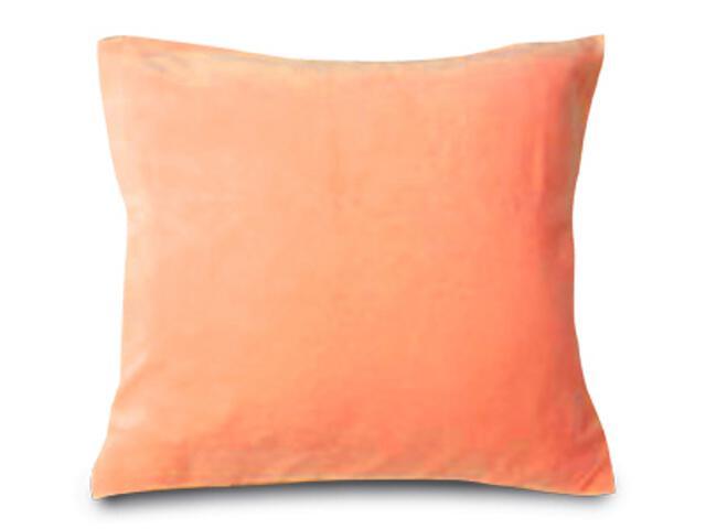 Poszewka welurowa 40x40cm pomarańcz Matex