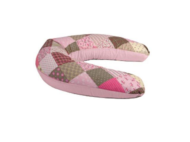 Poszewka na poduszkę Relax Patchwork 170cm róż BabyMatex