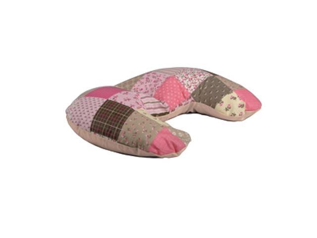 Poduszka miniRelax Patchwork 140cm róż-beż BabyMatex