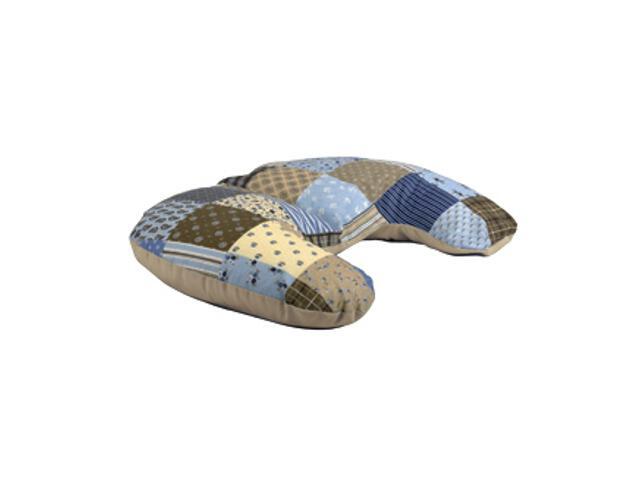 Poszewka na poduszkę miniRelax Patchwork 140cm niebieski-beż BabyMatex