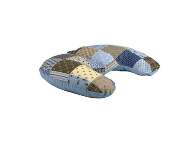 Poszewka na poduszkę miniRelax Patchwork 140cm niebieski BabyMatex