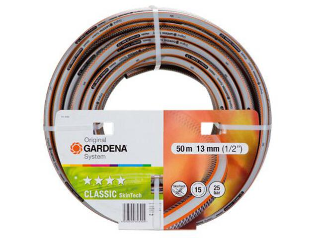 """Wąż ogrodowy Classic Skin Tech 1/2"""", 50m Gardena"""