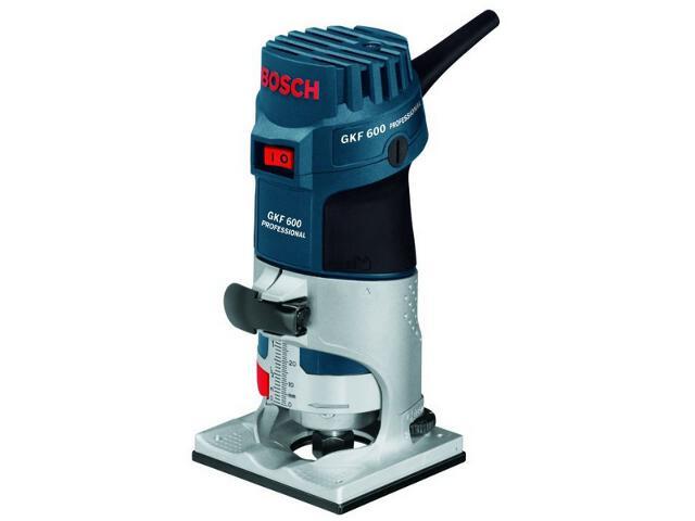 Frezarka górnowrzecionowa GKF 600 Professional 600W z osprzętem 60160A101 Bosch