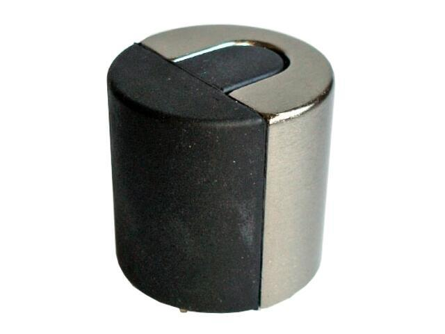 Odbojnik wysoki walec srebro mat A-80007-01-002 Aspro