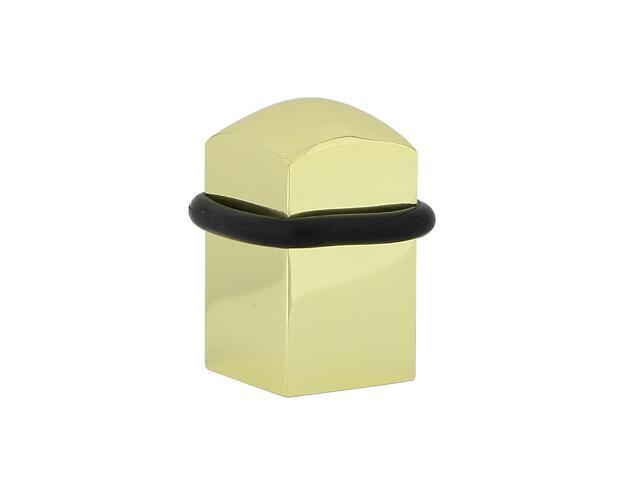 Odbojnik 430 kwadrat mosiądz Domino