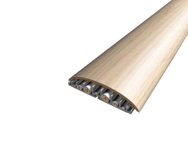 Listwa maskująca 74mm PVC dąb G0 dł. 2m V-VOLTA-G0-200 Volta