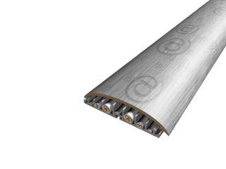 Listwa maskująca 74mm PVC metalic 62 dł. 1m V-VOLTA-62-100 Volta