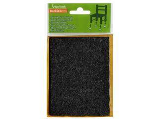 Podkładki filcowe czarne 100x120 mm prostokątne Barlinek