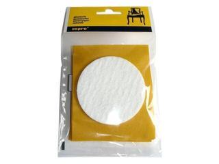 Podkładki filcowe białe fi 70 - 4szt A-40001-09-XXX Aspro