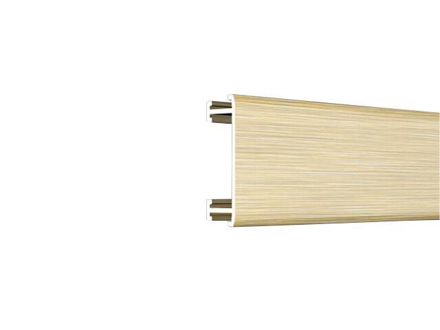 Listwa dekoracyjna płaska 25x8,5mm ALU złoto A2 dł. 2,5m F-ADPA1-A2-250 Morino