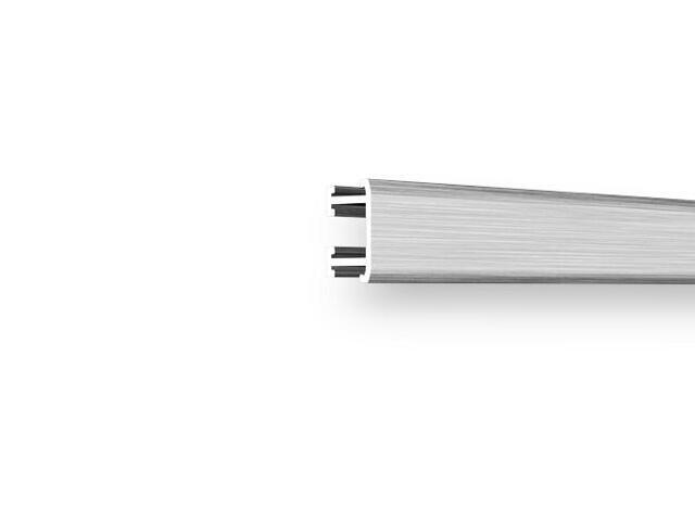Listwa dekoracyjna płaska 12,5x8,5mm ALU srebrny A0 dł. 2,5m F-ADPC1-A0-250 Morino