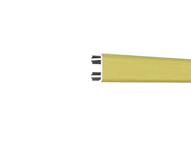 Listwa dekoracyjna płaska 12,5x8,5mm ALU złoto A2 dł. 2,5m F-ADPC1-A2-250 Morino