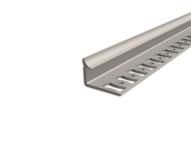 Listwa wykończeniowa wewnętrzna 8mm PVC beż L2 dł. 2,5m F-FSW08-L2-250 Aspro
