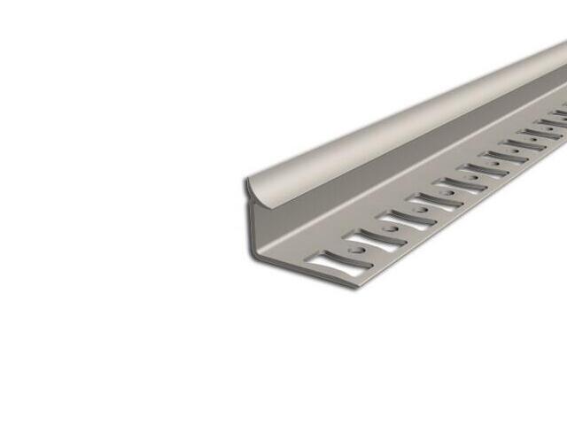 Listwa wykończeniowa wewnętrzna 10mm PVC beż L2 dł. 2,5m F-FSW10-L2-250 Aspro