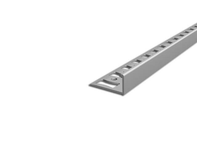 Listwa wykończeniowa zakończeniowa 10mm PVC biały L0 dł. 2,5m F-FSK10-L0-250 Aspro