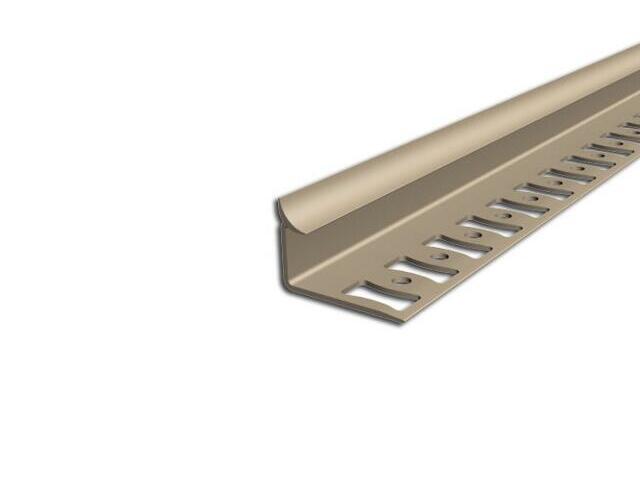 Listwa wykończeniowa wewnętrzna 10mm PVC beż L5 dł. 2,5m F-FSW10-L5-250 Aspro