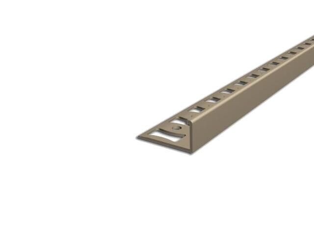 Listwa wykończeniowa zakończeniowa 10mm PVC beż L5 dł. 2,5m F-FSK10-L5-250 Aspro