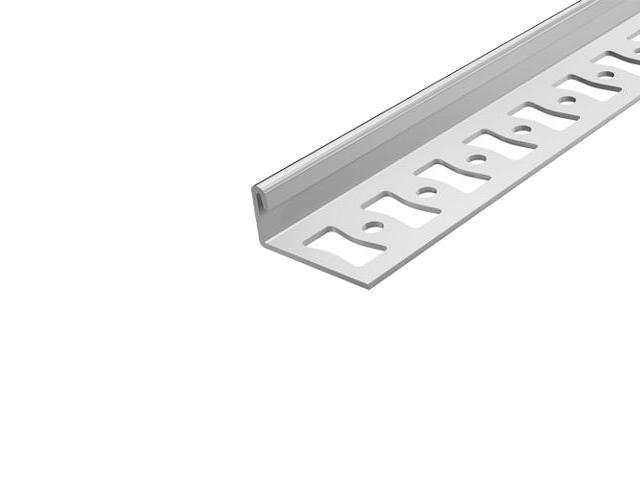 Listwa wykończeniowa zakończeniowa 10mm stal 20 dł. 2,5m F-FC600-20-250 Aspro