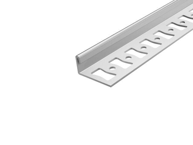 Listwa wykończeniowa zakończeniowa 10mm stal 20 dł. 1,25m F-FC600-20-125 Aspro