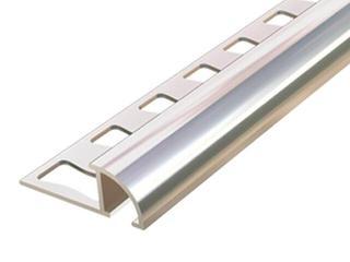 Listwa wykończeniowa zakończeniowa 10mm ALU złoto 03 dł. 2,5m 6-00611-03-250 Aspro