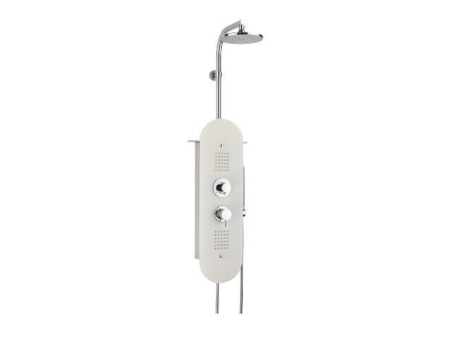 Panel prysznicowy TOTEM SCORPION z hydromasażem X01348 Ravak