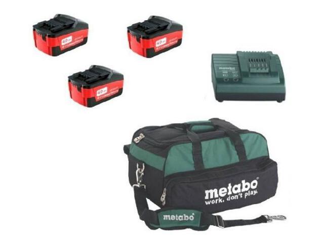 Zestaw elektronarzędzi Power Combo-Set 18V Metabo
