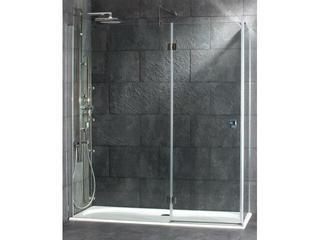 Kabina prysznicowa prostokątna Metropolis Plaza 110x75 chrom PB3000028 Poolspa