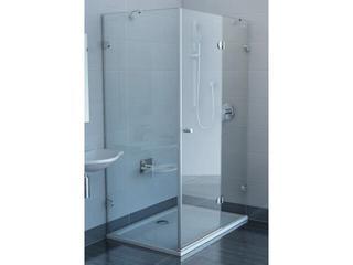 Kabina prysznicowa prostokątna GLASSLINE GSDPS-100/80 P, szkło transparentne 0BPA4A00Z1 Ravak