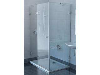 Kabina prysznicowa prostokątna GLASSLINE GSDPS-110/80 L, szkło transparentne 0BLD4A00Z1 Ravak