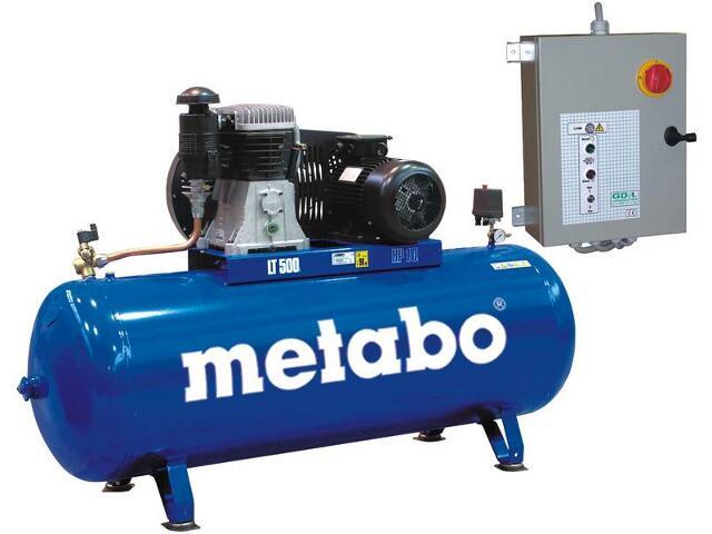 Kompresor elektryczny olejowy Megapress 930-15/500 Metabo